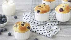 La ricetta dei muffin ai mirtilli