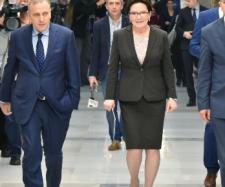 Ewa Kopacz i Platforma Obywatelska (fot: Adrian Grycuk).