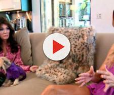 Lisa Vanderpump and Brandi Glanville appear on 'RHOBH.' [Photo via Bravo/YouTube]