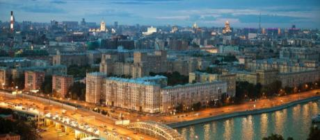 Un panorama della città di Mosca