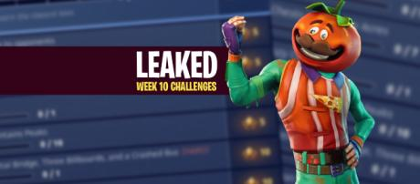 "Week 10 ""Fortnite Battle Royale"" challenges have been leaked! Image Credit: Own work"