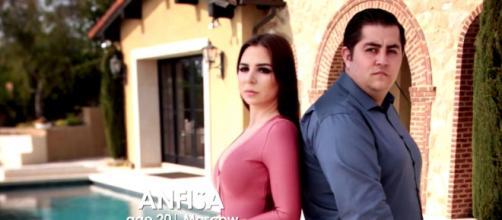 '90 Day Fiance' stars Jorge and Anfisa return for a new season / Photo via TLC, YouTube