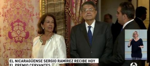 ANTENA 3 TV | Los Reyes entregan al escritor nicaragüense Sergio ... - antena3.com
