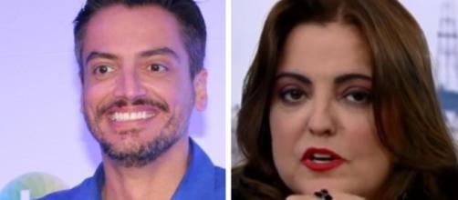 De acordo com Leo Dias, Fabíola Reipert não teria notícias exclusivas.