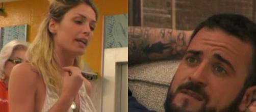 GF15: lite tra Mariana e Danilo.