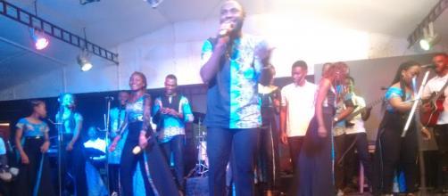 Le groupe de musique gospel camerounais Maliku Ma Nlima (c) Odile Pahai