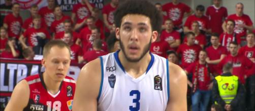 LiAngelo Ball is hoping to join his brother Lonzo in the NBA next season. - [Image by LKL TV/ YouTube screencap]