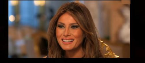 Melania Trump has insult added to injury as Trump's ex-wife publicly claims she 'feels sorry for her.' Photo: MSNBC YouTube screenshot