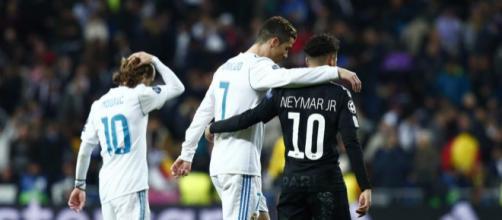 Neymar admite que Cristiano Ronaldo es uno de sus referentes y ... - elbocon.pe