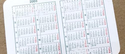 Calendario 1950.Giorni Festivi