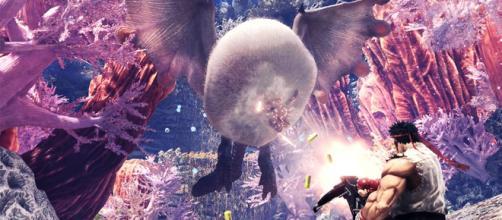 Street Fighter V llega como nuevo `crossover´ de Monster Hunter World