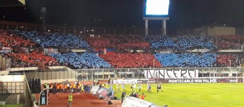 Tanti spettatori per Catania- Trapani.
