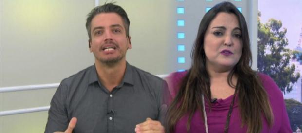 Fabiola Reipert é criticada por Leo Dias