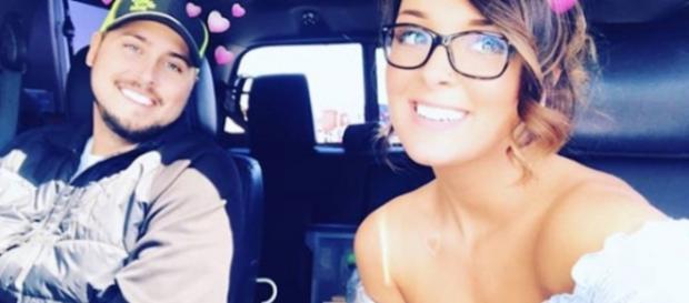 Jeremy Calvert and Desiree Kibler take a car selfie. [Photo via Instagram]