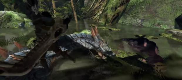 Monster Hunter World Prototype Video - Lagiacrus Reveal Part 2 [Image Credit: Giuseppe's Gaming]