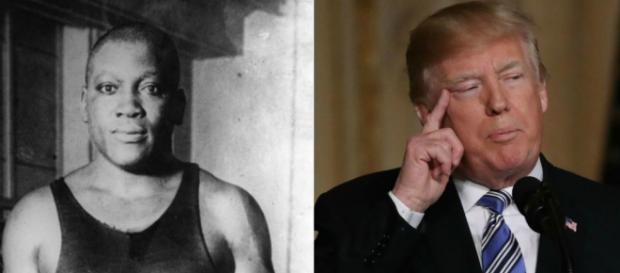 President Trump considers posthumous pardon for boxing champ Jack ... - thegrio.com