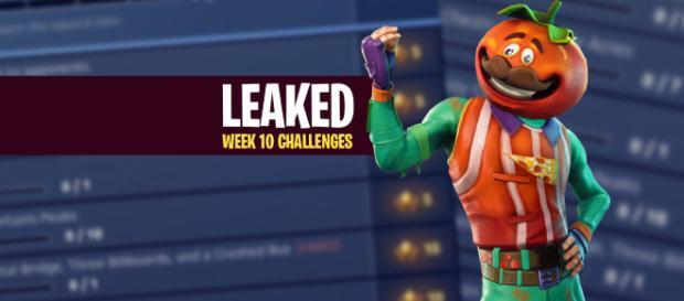 "Week 10 ""Fortnite Battle Royale"" challenges have been leaked! Image Credit: Own work"