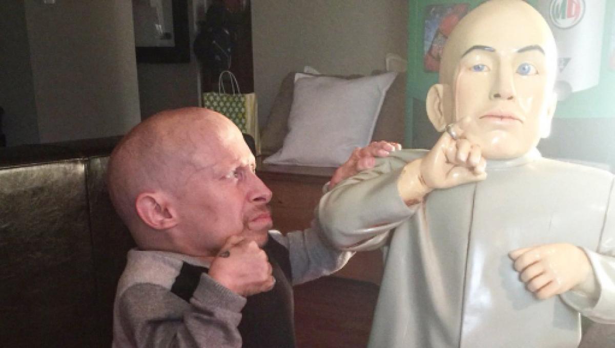 Verne Troyer og ranae shrider sex video