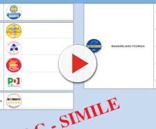 Fac simile scheda elettorale Friuli Venezia Giulia 2018