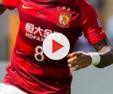 O jogador é astro do Guangzhou Evergrande