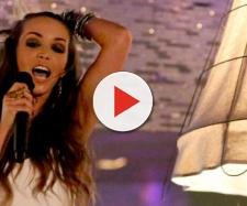 Scheana Marie sings, on 'Vanderpump Rules,' at SUR. [image source: Bravo/YouTube]