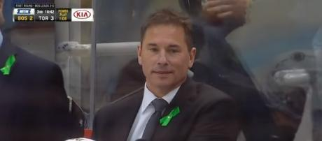 Boston Bruins head coach Bruce Cassidy has pushed the right buttons all year [Image via Hockey if Life / YouTube Screencap]