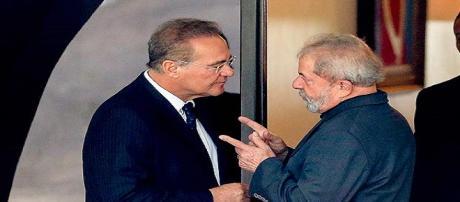 Renan Calheiros e Lula podem formar aliança para enfraquecer Temer.