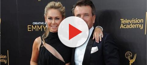 Kym Johnson Herjavec and Robert Herjavec welcome twins, a boy and a girl [Image: Wochit Entertainment/YouTube screenshot]
