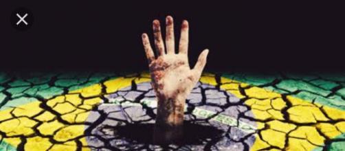 Brasil no fundo do poço pede socorro
