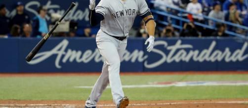 Giancarlo Stanton jonroneó dos veces en el debut como la máquina de los Yankees ... - theathletic.com