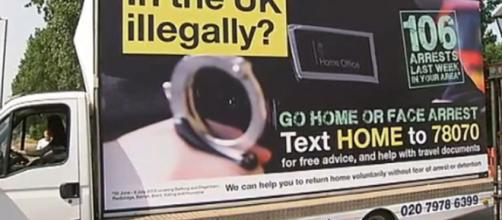 Government 'go home' vans banned for 'misleading' public – Channel ... - channel4.com