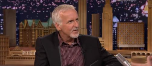 James Cameron talking about his documentary Deepsea Challenge 3D. [Image via The Tonight Show Starring Jimmy Fallon/YouTube screencap]