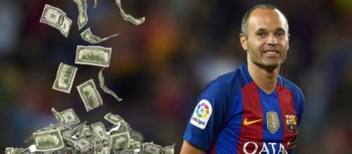 La impactante cantidad que este club le ofrece a Iniesta para ... - lagambeta.com