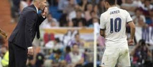 Los conflictos de james en el Real Madrid