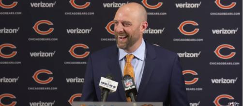 Matt Nagy pledged to change the culture in Chicago - image - Chicago Bears / Youtube