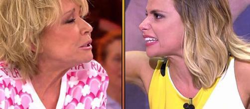 Mila Ximénez y María Lapiedra enfrentadas