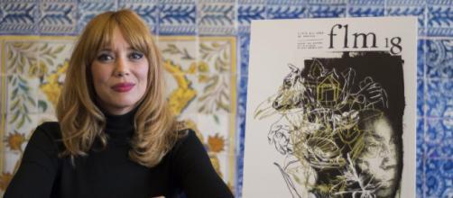 Paula Bonet presenta el cartel de la 77 Feria del Libro de Madrid