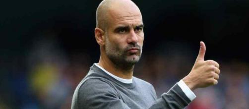 Pep Guardiola está treinando o Manchester City