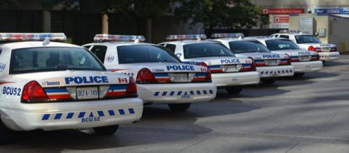Police Cars in Toronto (Image credit – Raysonho, Wikimedia Commons)