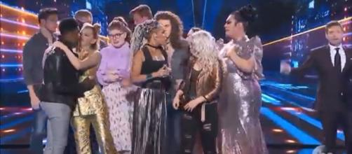 The newly-chosen Top Ten of 'American Idol' 2018 were still overcome with emotion as credits rolled on April 23. Screencap Talent Recap/YouTube