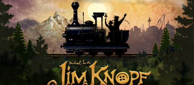 Jim Button y Luke, el conductor de la locomotora