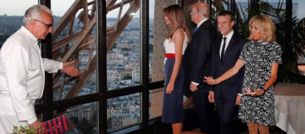 Los Macron demuestran a los Trump que París sigue siendo París ... - elpais.com