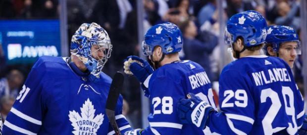 Los Maple Leafs pudieron ganar en casa y obligaron a un juego 7 en el TD Garden. NHL.com.