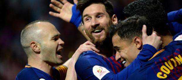 Messi le da otro trofeo más al Barcelona.