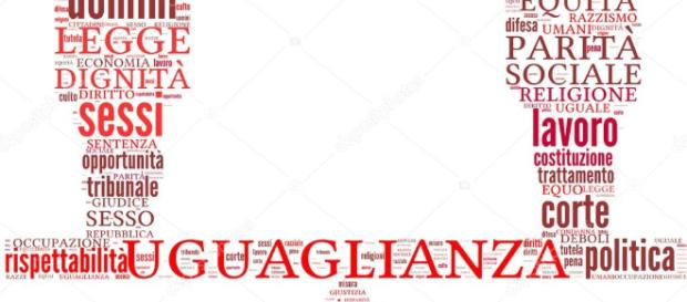 Nuage de Tags uguaglianza — Photographie lifeinapixel © #13407416 - depositphotos.com