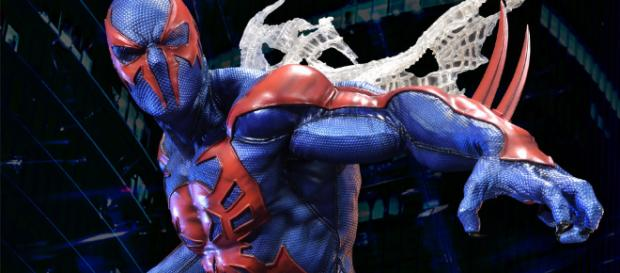 Spider-Man en su versión 2099 en forma digital
