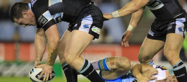 The ruck is where most penalties are won or conceded. Image Source - Daily Telegraph - com.au