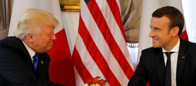 Macron in den USA: Erster offizieller Staatsempfang seit Amtsantritt von Trump