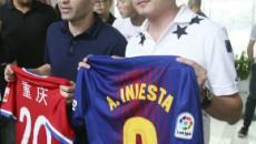 Andrés Iniesta entre la liga de China y la Premier League
