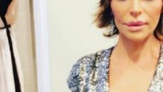 Lisa Rinna Changes Hair Again